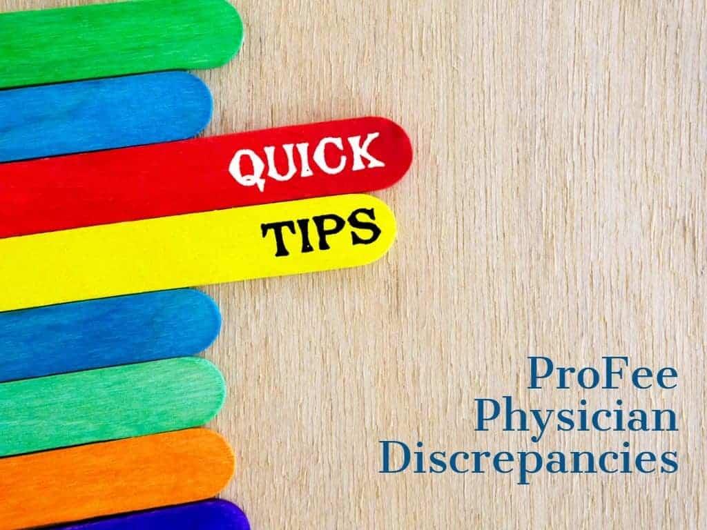 ProFee Top 5 tips