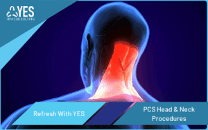 how to code PCS head and neck procedures