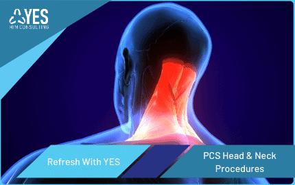 how to code PCS head and neck procedures