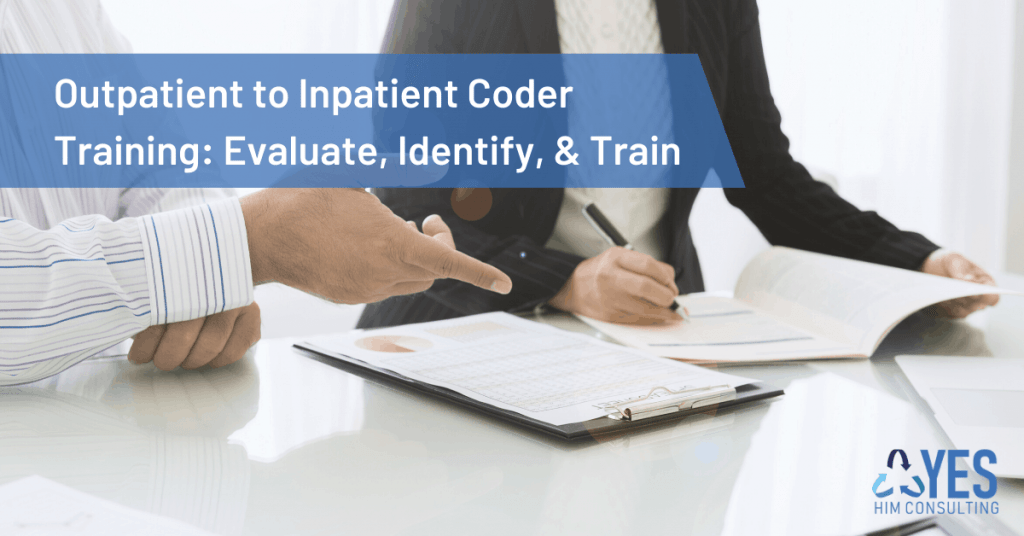 outpatient to inpatient coder training