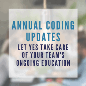annual medical coding updates