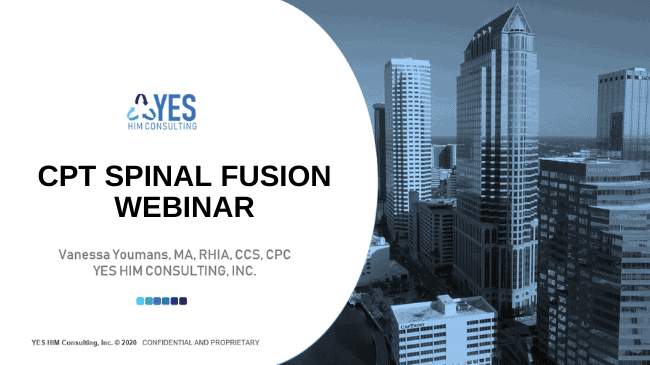 cpt spinal fusion coding webinar