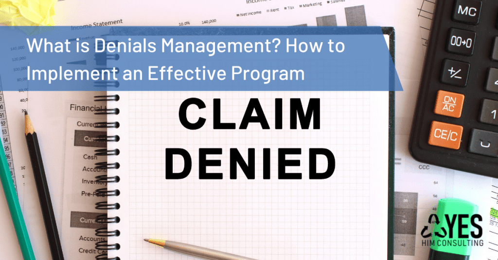 what is denials management