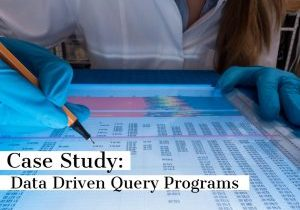 Query programs backed by data